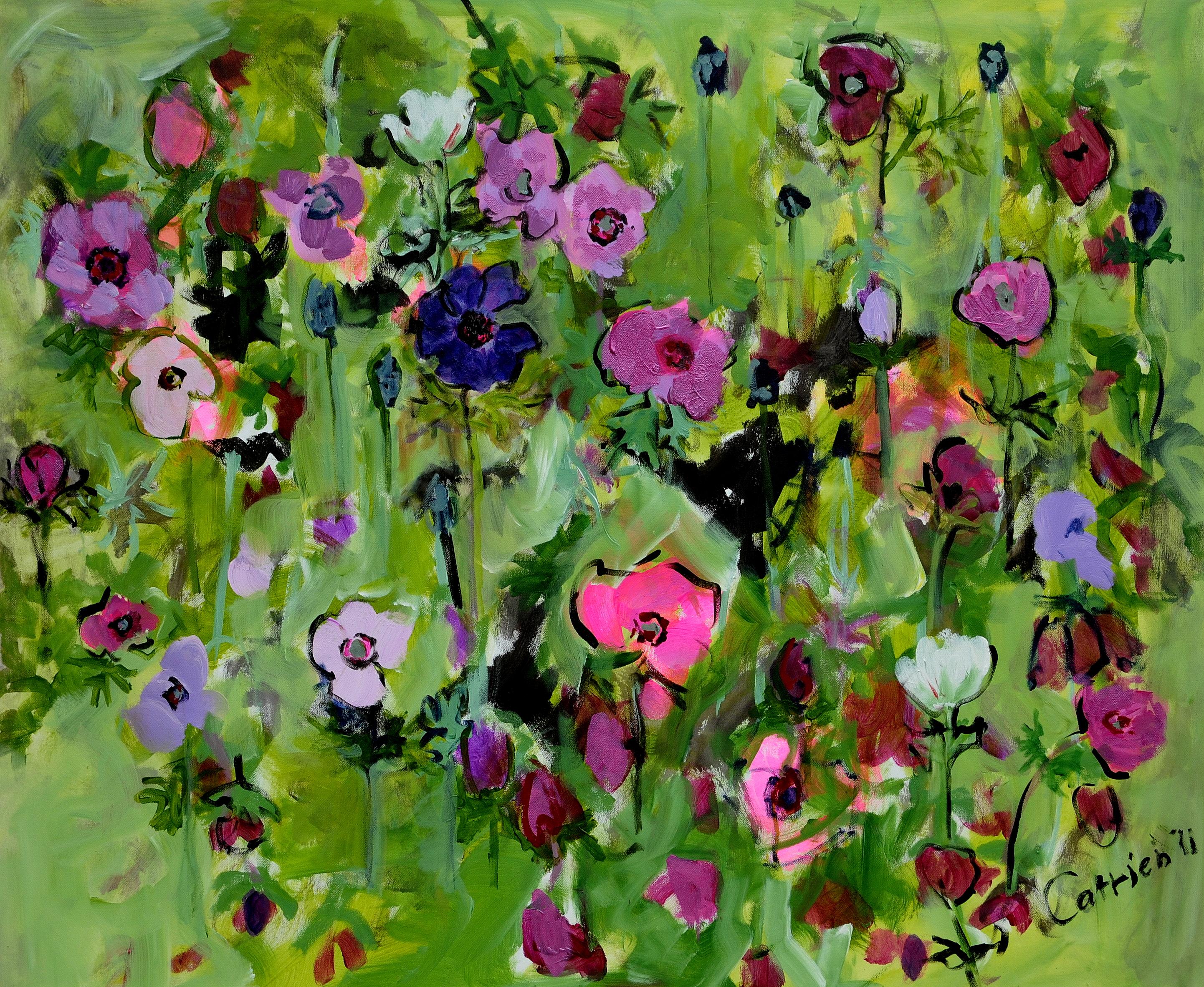 Catrien Art_Schilderij verkocht_Anemonen
