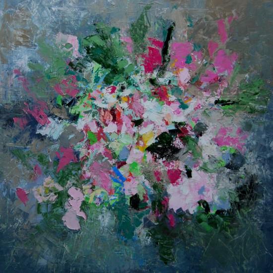 Catrien Art_Schilderij verkocht_Bloesem