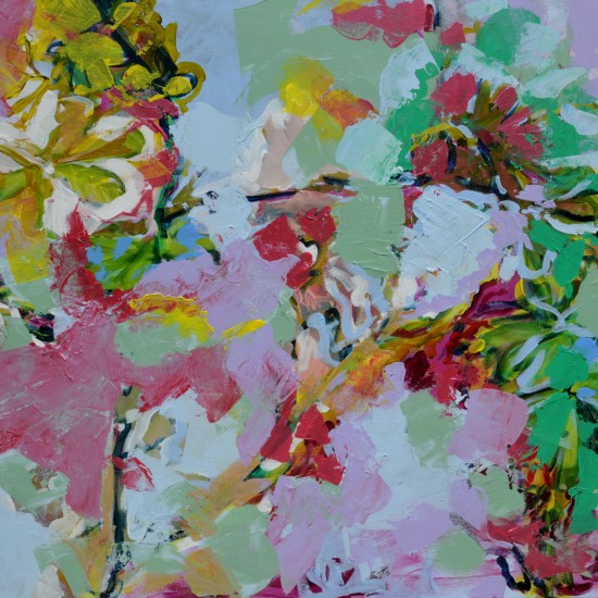 Catrien Art_Schilderij verkocht_Kastanjebloesem