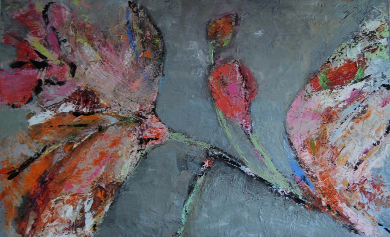 Catrien Art_Schilderij verkocht_Nieuwe knoppen