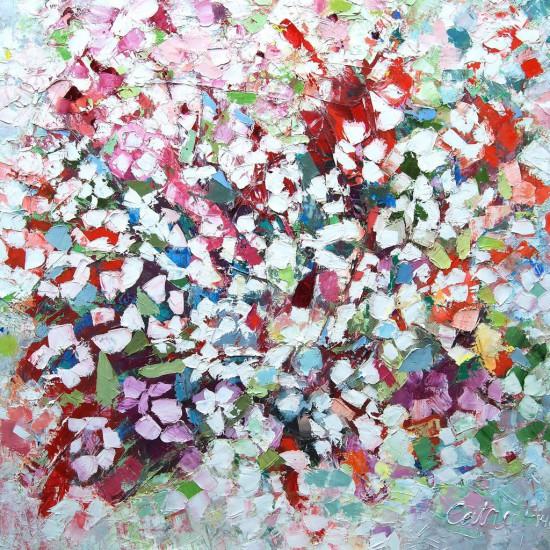 Catrien Art_Schilderij__Witte Vlinders
